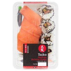 Taiko Sushi Gochiso Salmon Sushi