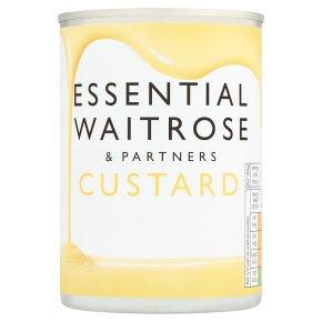 essential Waitrose custard