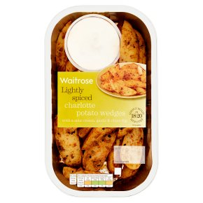 Waitrose Potato Wedges with Sour Cream Dip
