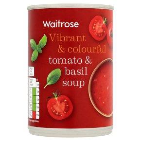 Waitrose tomato & basil soup
