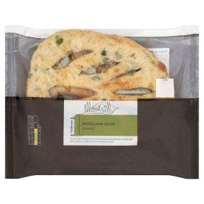 Waitrose 1 noccelara olive fougasse