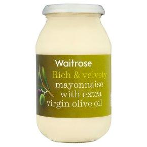 Waitrose mayonnaise with olive oil