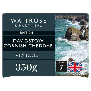 Waitrose Cornish Cheddar Vintage Strength 7