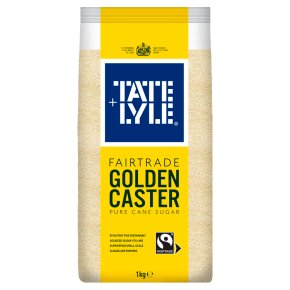 Tate & Lyle Fairtrade Golden Caster Sugar