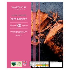 Waitrose slow cooked rolled beef brisket