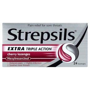 Strepsils Extra Cherry