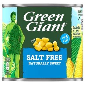 Green Giant Salt Free Sweetcorn