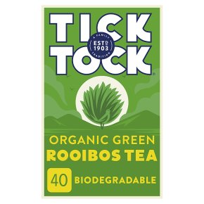 Tick Tock Rooibos Green Tea Bags