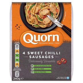 Quorn 4 Sweet Chilli Sausages