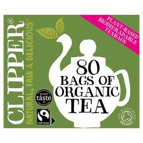 Clipper Fairtrade Tea 80 Teabags