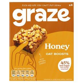Graze Protein Bites Honey & Seed Squares