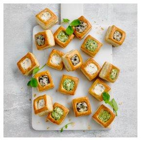 Vol Au Vent Canapés Mixed Waitrose Partners