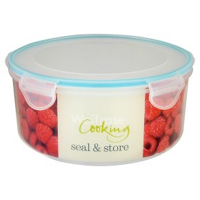 Waitrose Seal & Store 3.6 litre round container