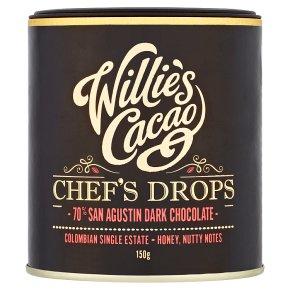 WCacao 70% Dark Chocolate Drops