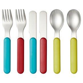 Waitrose Mini 6 Piece Cutlery