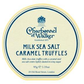 CetW Milk Sea Salt Truffles