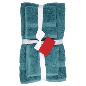 Waitrose 6 Piece Towel Bale Kingfisher