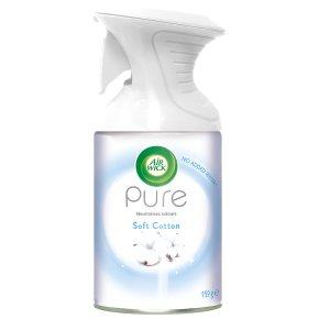 AirWick Air Freshener Pure Aerosol Soft Cotton