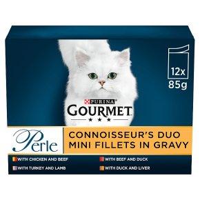 Gourmet Perle Connoisseurs Duo Cat Food Meat