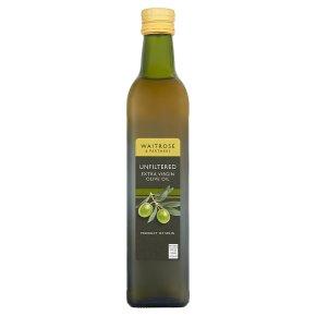 Waitrose Unfiltered Extra Virgin Oil