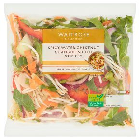 Waitrose Water Chestnut & Bamboo Stir Fry
