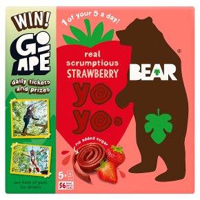 Bear for kids 100% fruit strawberry yo yos