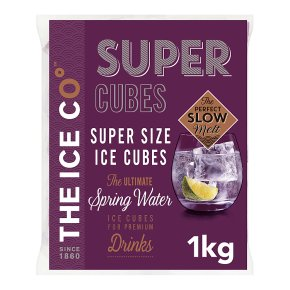 The Ice Co Super Cubes 1kg