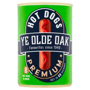 Ye Olde Oak 8 Premium Hot Dogs