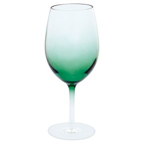 Waitrose Acrylic Wine Glass Green