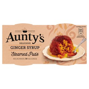 Aunty's Steamed Ginger Syrup Puddings