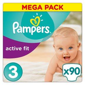 Pampers Active Fit Mega Pack