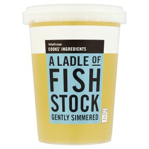 Waitrose Cooks' Ingredients fish stock