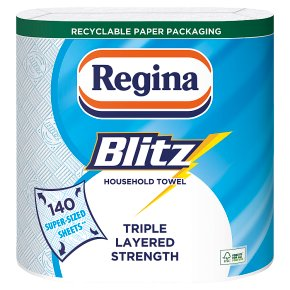 Regina Blitz 3 Ply Towels