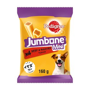 PEDIGREE Jumbone Small Dog Treats with Beef 4 Chews