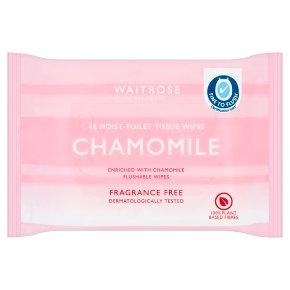 Waitrose Moist Toilet Tissue Refill Fragrance Free