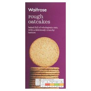 Waitrose LOVE life rough oatcakes