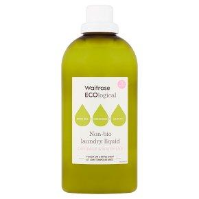Waitrose ECOlogical Non-Bio Laundry Liquid