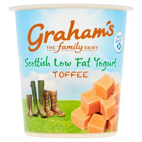 Graham's Scottish Low Fat Toffee Yogurt