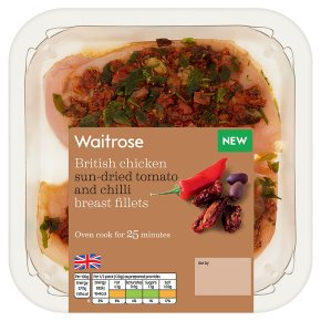 Waitrose Tom Chilli Chick Breast Fillets