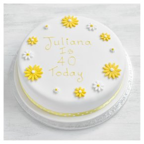 Waitrose Entertaining Birthday Cakes