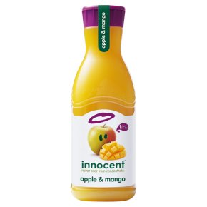 innocent apple & mango juice