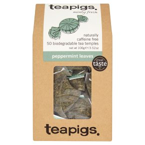 Teapigs peppermint leaves 50 bags