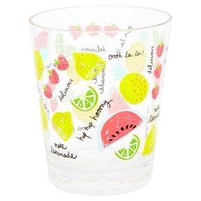 Waitrose Fruity Acrylic Tumbler