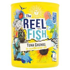 The Reel Fish Co Tuna in Sunflower Oil