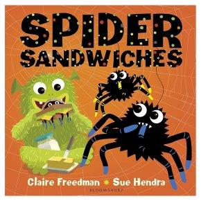Spider Sandwiches Claire Freeman