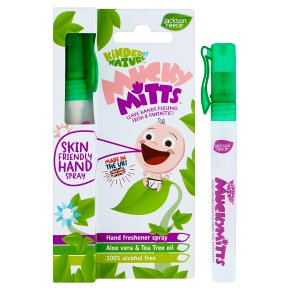 Mucky Mitts hand spray