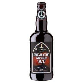 Glastonbury Black as Yer'At Stout