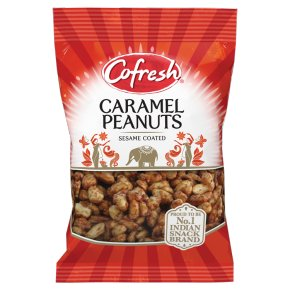 Cofresh caramel peanuts sesame coated