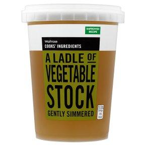 Waitrose Cooks' Ingredients vegetable stock