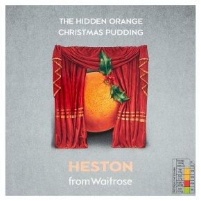 Heston from Waitrose hidden orange Christmas pudding